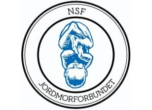 NSF jordmorforbundet logo